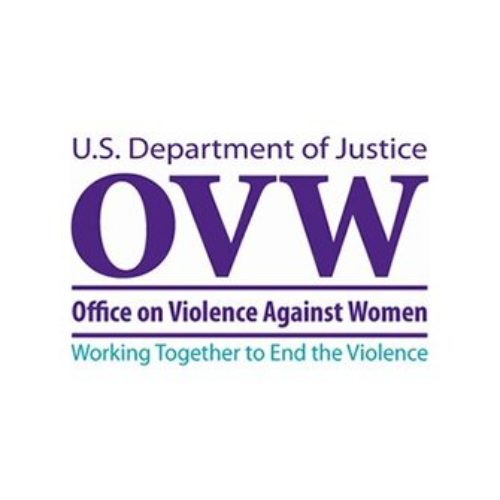 US DOJ Office on Violence Against Women logo